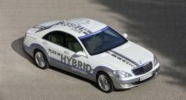 """Mercedes Vision S 500 Plug-In Hybrid: prima """"mașină de 3 litri"""" din clasa de lux"""