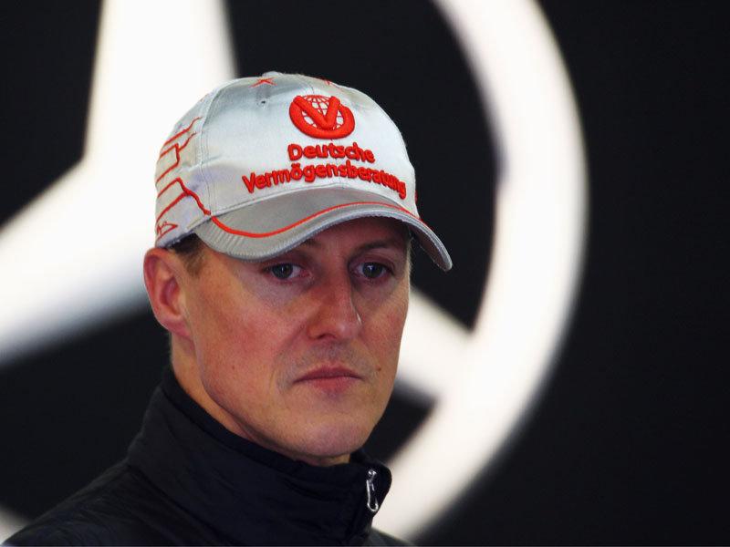 Schumacher, în cărucior cu rotile