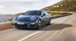 Filmare cu viitorul Porsche Panamera în timpul testelor