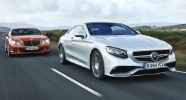 Duelul de lux: S63 AMG Coupe versus Bentley GT Speed