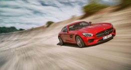 Mercedes-AMG GT din timpul testelor. VIDEO
