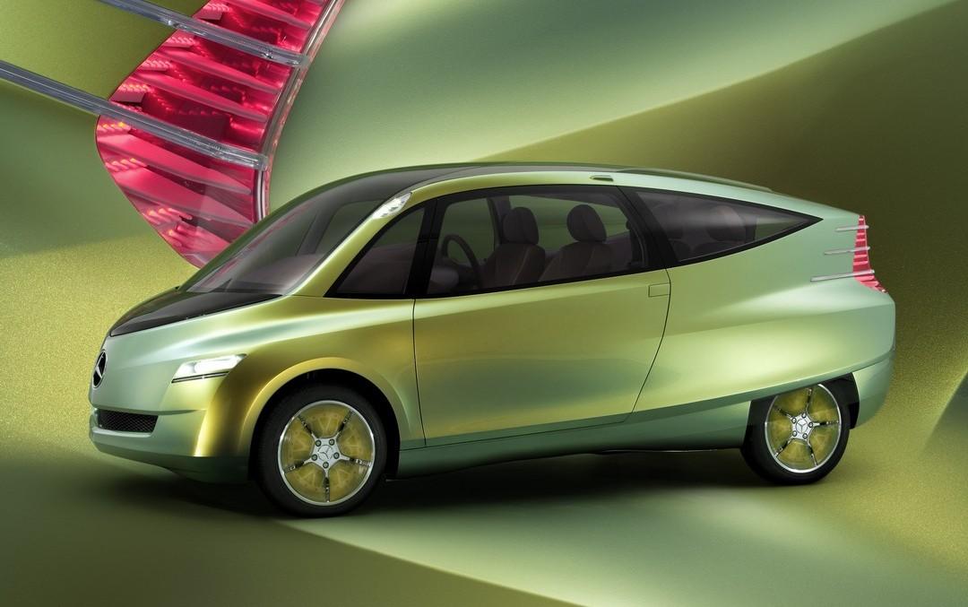 Inspirată din natură: Mercedes-Benz a creat mașina bionică în 1995