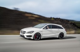 Oficial: Mercedes CLA 45 AMG Shooting Brake