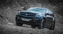 Larte Design ne arată partea întunecată a Mercedes-Benz GL