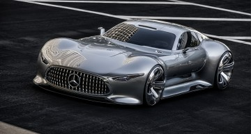 Supermașina virtuală: Mercedes-Benz AMG Vision Gran Turismo