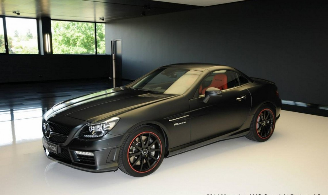 AMG Performance Studio a creat un SLK 55 AMG unic