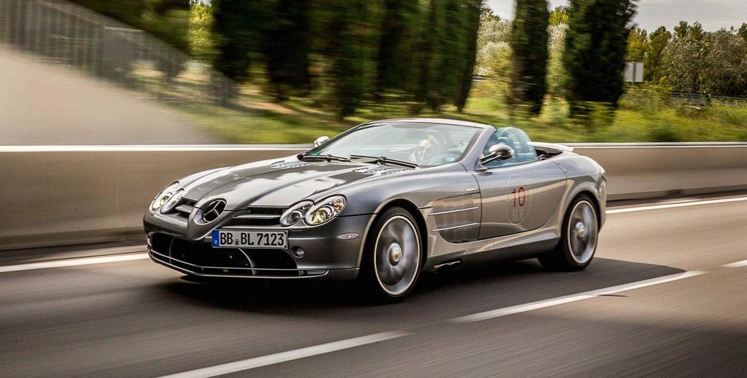 Mercedes-Benz SLR sărbătorit la Tour du Soleil 2014