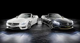 Ediție specială exclusivă SL 63 AMG, dedicată lui Hamilton și Rosberg