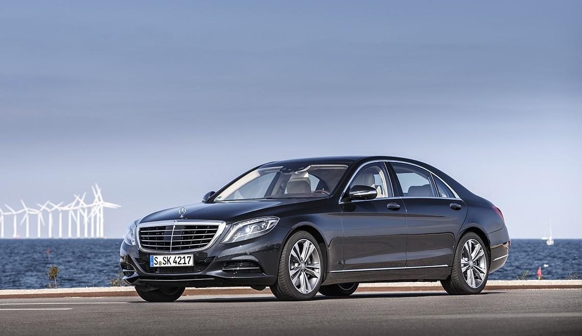 Mercedes S 500 Plug-In Hybrid primește Certificat de Mediu