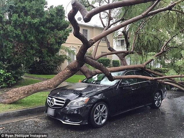 """Vremea a avut """"Cruel Intentions"""" cu un Mercedes-Benz E-Class"""