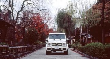 G-Class în Kyoto – O mașină de legendă într-un oraș de legendă