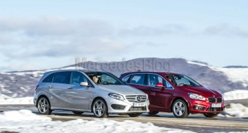 Mercedes-Benz B 200 CDI vs. BMW 218d Active Tourer