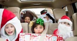 Mercedes plin de cadouri