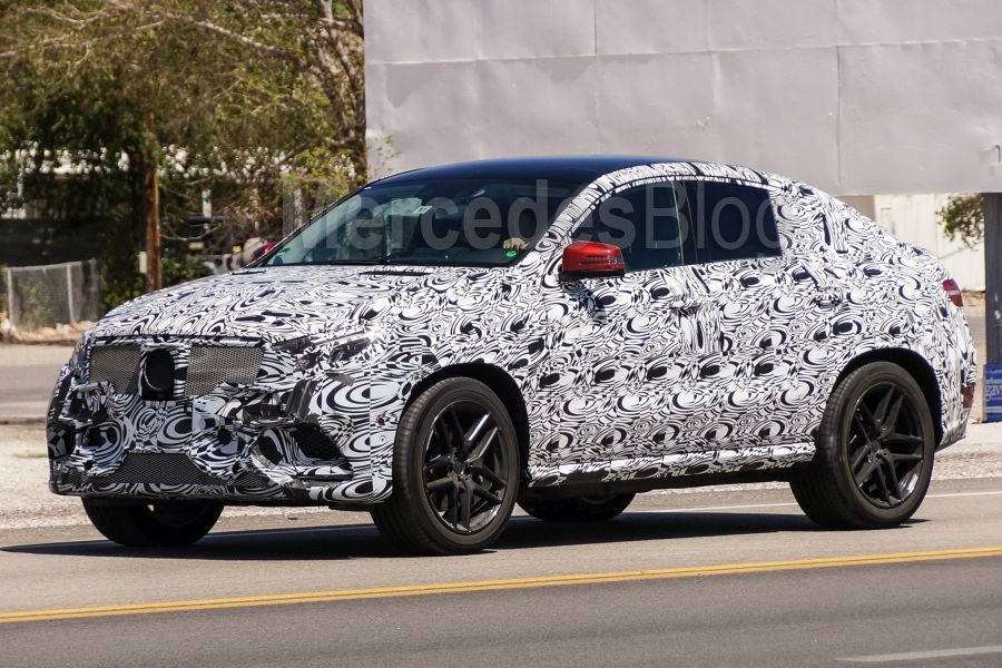 Noul Sprinter 2018 >> Primul test drive Mercedes GLE Coupe realizat de Auto Bild - MercedesBlog.ro