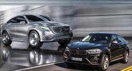 BMW X 6 2015 va avea un rival: Mercedes-Benz MLC