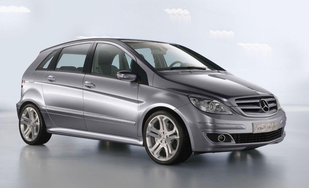 Mercedes Vision B: strămoșul Clasei B