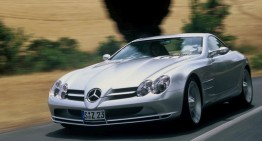 Mercedes Vision SLR: Primul model hipersport de la Mercedes