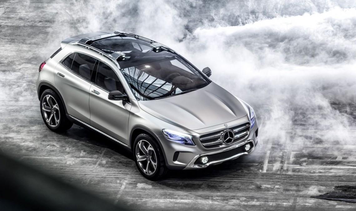 Mercedes-Benz GLA Concept: Un nou stil de SUV