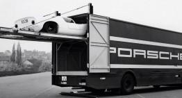 Buster: Transportorul Mercedes pentru modelele de curse Porsche din anii '60