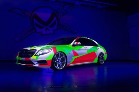 Mercedes curcubeu