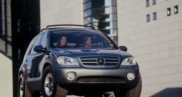 Conceptul Mercedes-Benz AA Vision: un off-roader confortabil