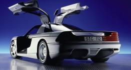 Întoarcerea aripilor de pescăruș: Conceptul Mercedes-Benz C 112