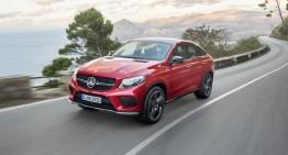 Mercedes-Benz GLE Coupe, primele imagini și informații oficiale