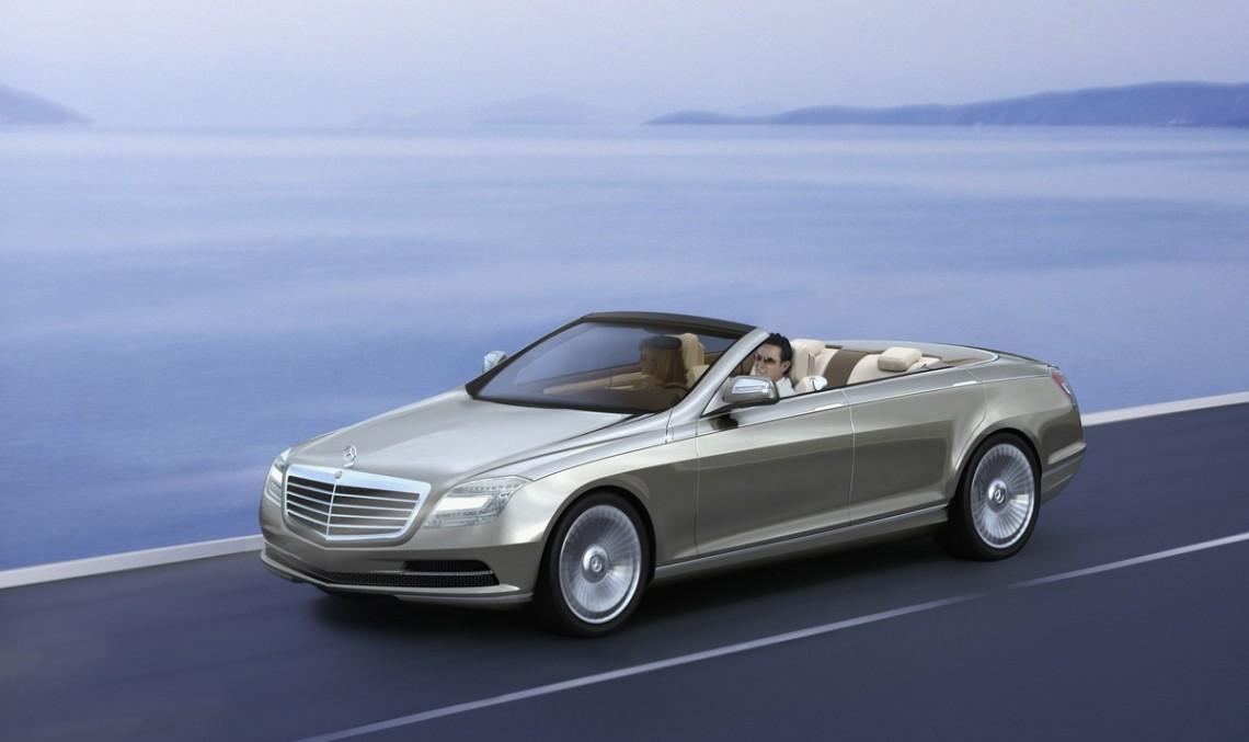 Un cabriolet față-n față cu luxul: Mercedes Ocean Drive Concept