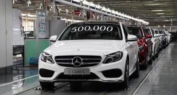 Record: 500.000 de modele Mercedes-Benz produse în China