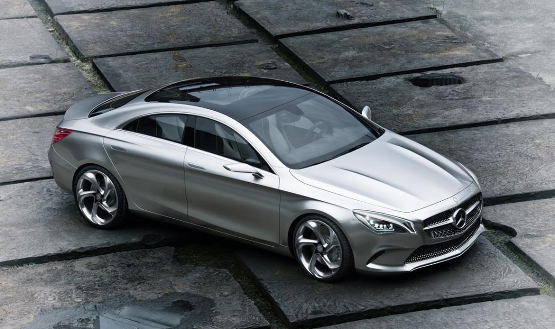 Amestecul sportiv-executiv: Mercedes Concept Style Coupe
