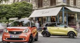 Versiunile electrice pentru Smart fortwo and forfour confirmate pentru 2016