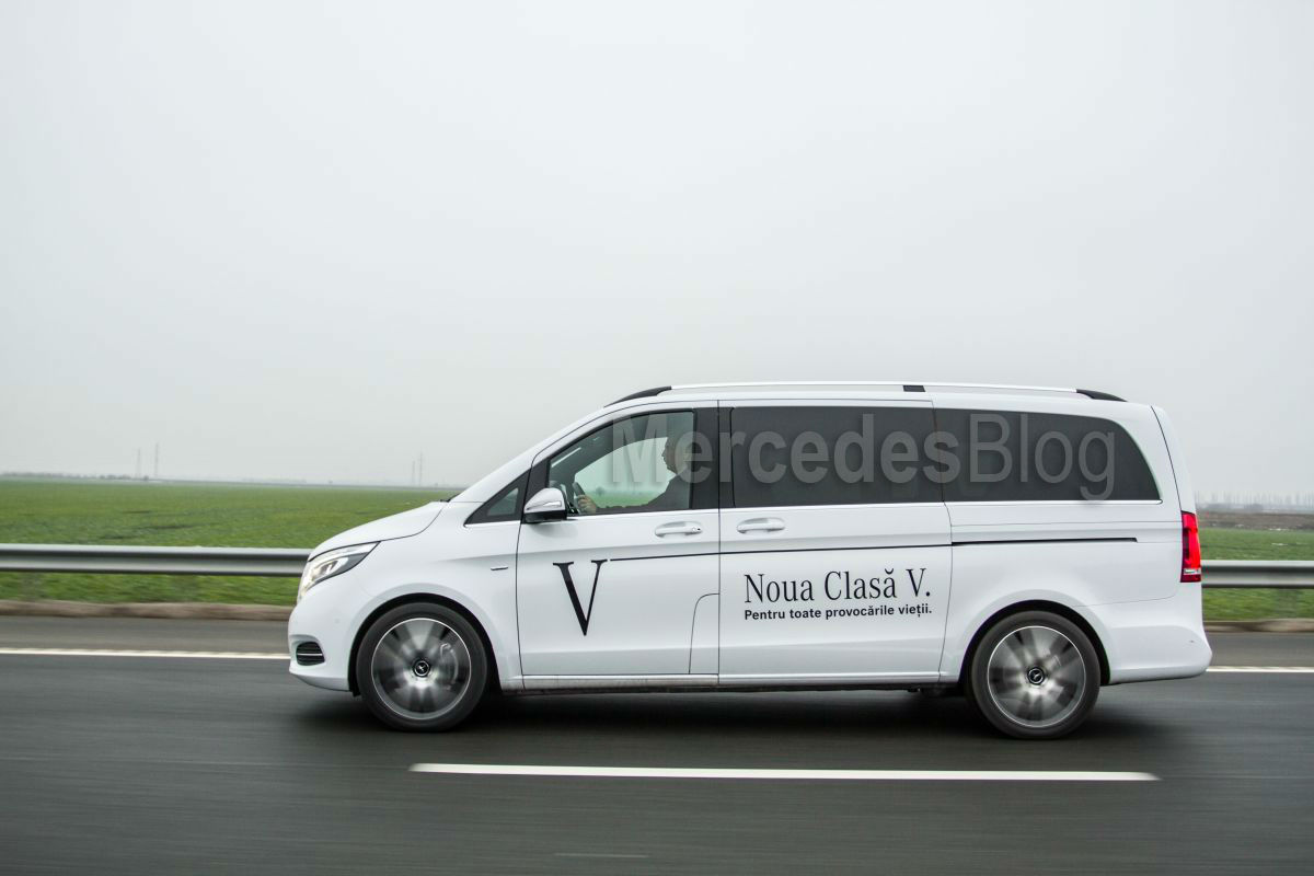test Mercedes V 250 BlueTec 12
