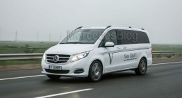 Test Mercedes V 250 BlueTec Edition 1: Supervan
