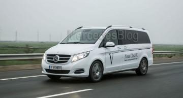 Test Mercedes V 250 BlueTec Edition 1: Supervan