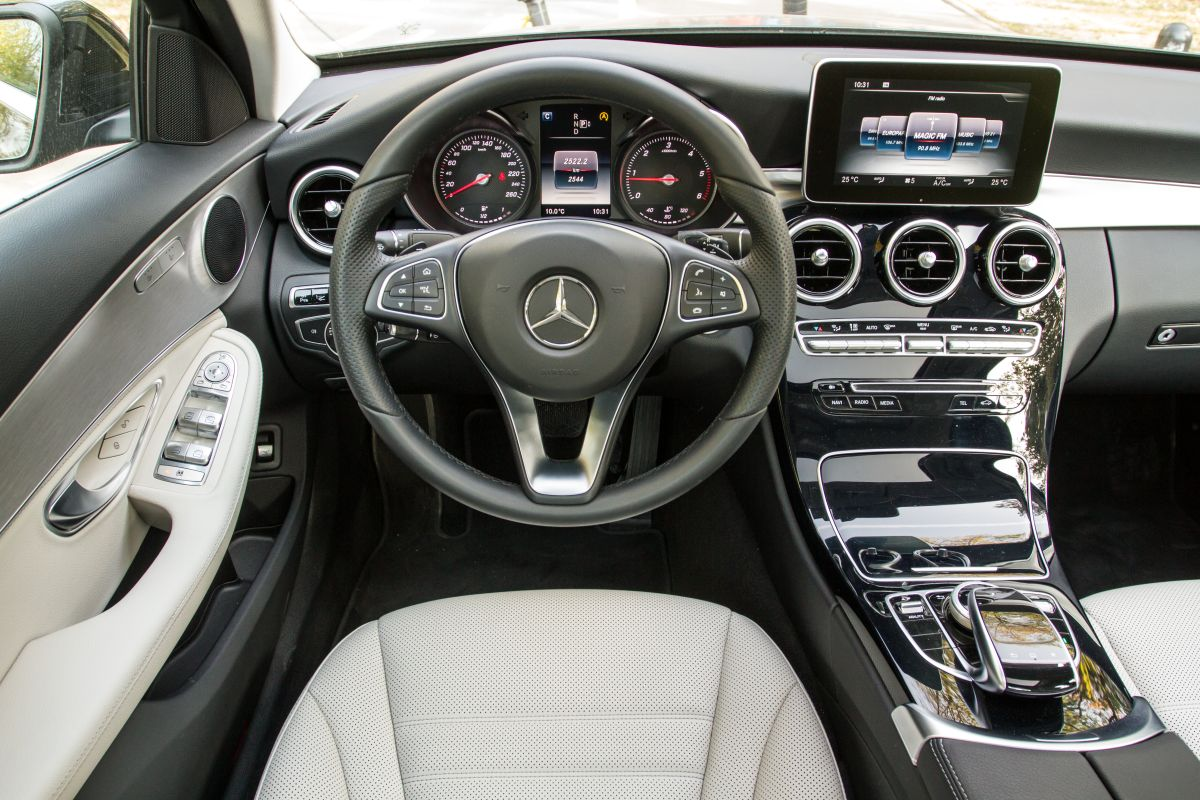 test mercedes C 220 BlueTec 1