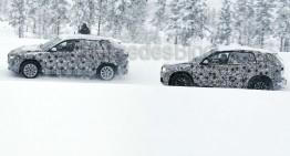 Spionate în premieră: BMW FAST alături de X1