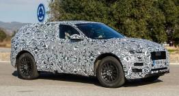 Jaguar F-Pace SUV – cele mai recente fotografii spion