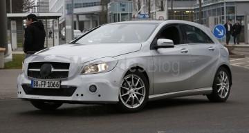 Mercedes-Benz A-Class facelift – primele detalii şi poze spion
