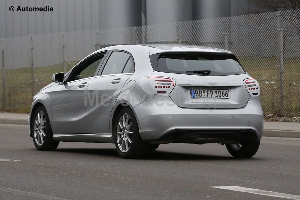 Spy-Photo Mercedes-Benz A-Class facelift