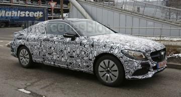 Exclusiv: Primele poze-spion cu Mercedes Clasa C-Coupe