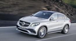 Mercedes GLE 63 AMG Coupe: SUV Coupe cu până la 585 CP