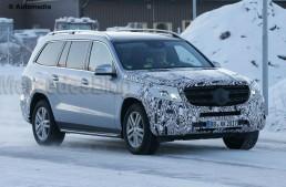 Viitorul Mercedes GLS aproape nemascat