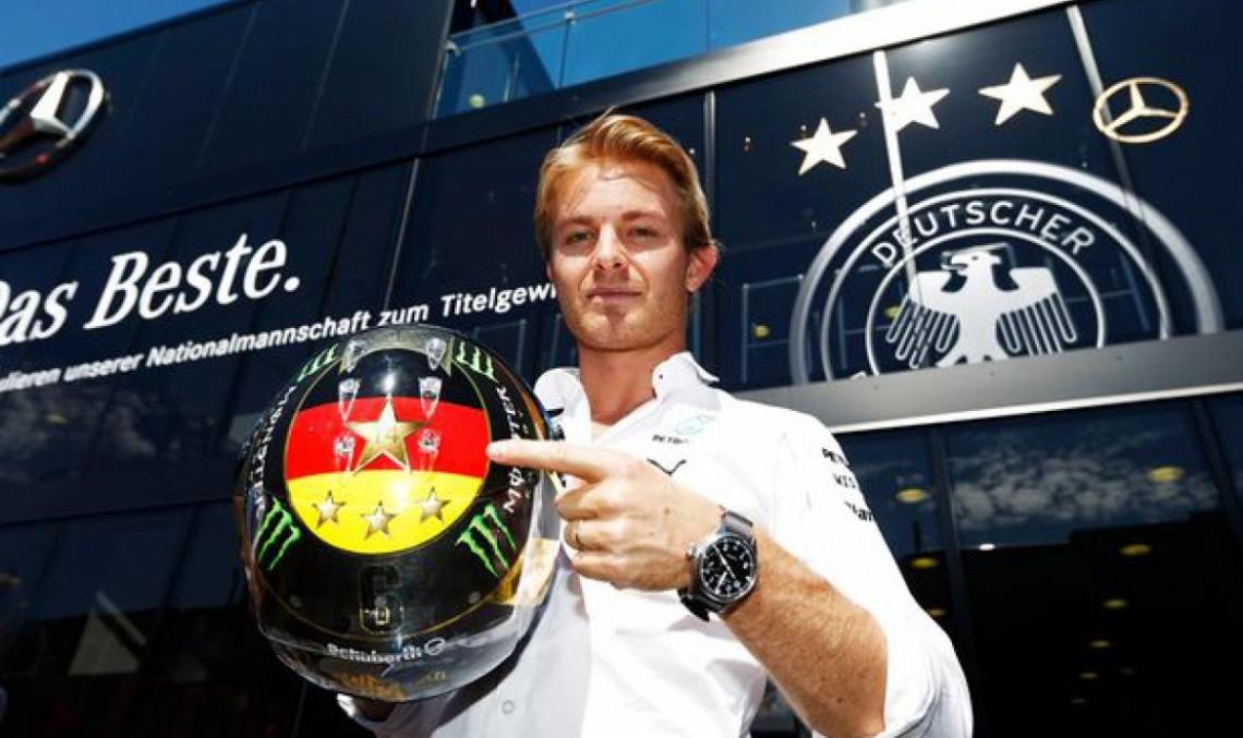 Rosberg se antrenează pentru titlul mondial