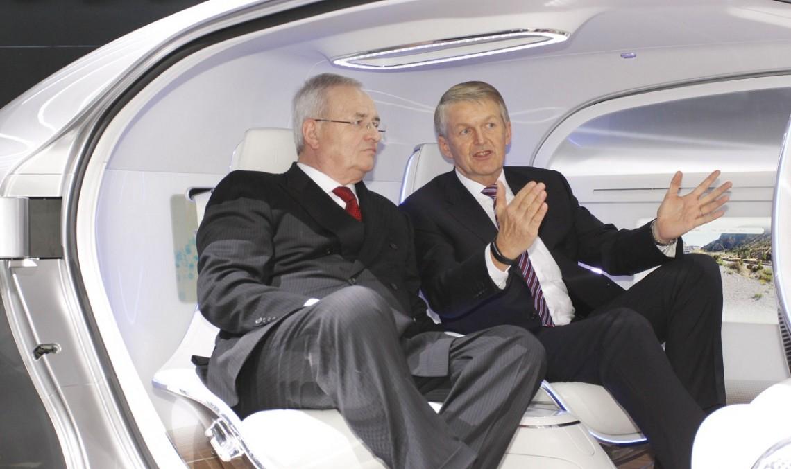 Șeful Volkswagen spionează Mercedes-Benz F 015 Luxury in Motion
