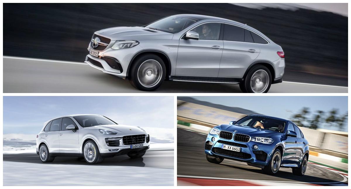 Competiția Anului Mercedes Gle 63 Amg Coupe Vs Bmw X6m