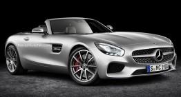 Mercedes-AMG GT Roadster ar putea fi un cabriolet extrem de reușit
