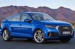 Cineva și l-a imaginat pe Audi Q6, un echivalent pentru noul GLE Coupe