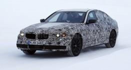 Noul BMW Seria 5, spionat în premieră în timpul testelor pe zăpadă