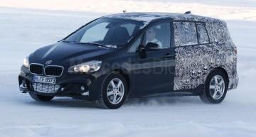 Foto-spion: BMW Seria 2 Family Tourer, mai aproape de producția de serie
