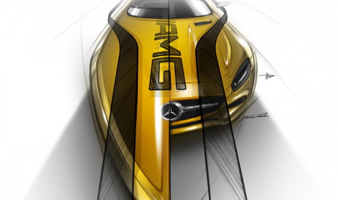 Mercedes și Cigarette lucrează la o ambarcațiune inspirată de AMG GT S